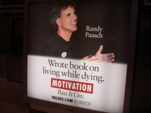 Dr. Randy Pausch inspires even after his death