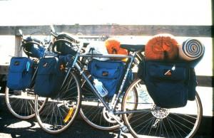 International Bicycle Trip 1984