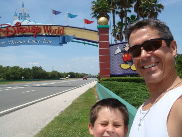 Disney World Main Entrance