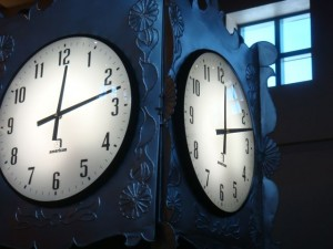 There Are Two Sides To Every Clock