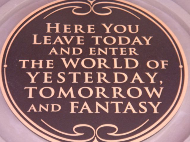 Guess What? You Ain't In Fantasyland