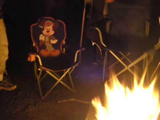 Work Often Follows Us Everywhere, Even A Cub Scout Campfire